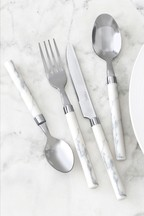 16 Piece Geo Cutlery Set