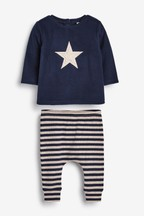 Two Piece Cosy Top And Legging Set (0mths-2yrs)