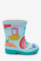 Printed Buckle Wellies (Younger)