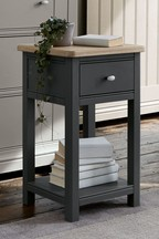 Hampton Slim 1 Drawer Bedside Table