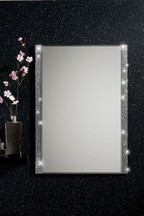 Harper Mirrored Single Bathroom Cabinet