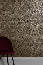 Paste The Wall Celestial Damask Wallpaper