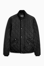 Shower Resistant Diamond Quilted Jacket