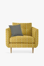 Orla Kiely Linden Chair with Oak Feet