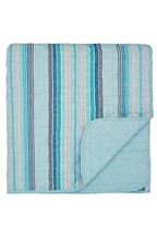 Helena Springfield Burton Stripe Quilted Throw