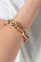 Chunky Chain Stretch Bracelet