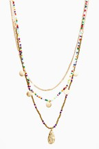 Beaded Multi-Layer Necklace