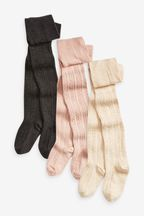 3 Pack Cable Tights
