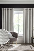 Woven Geo Curtains