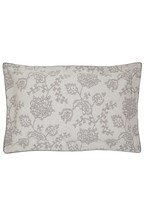 Bedeck of Belfast Canna Botanical Floral Jacquard Cotton Oxford Pillowcase