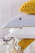 Joules Botanical Bee Housewife Pillowcase