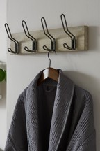 Wood And Metal Hooks