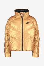 Nike NSW Metallic Gold Jacket
