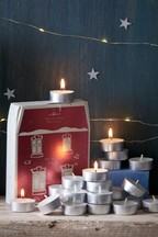 24 Pack Festive Spice Tealight Candles