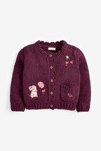 Mouse Embroidered Cardigan (3mths-7yrs)