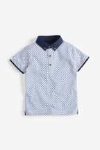 Short Sleeve All Over Cars Print Polo (3mths-7yrs)
