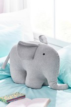 Large Knitted Elephant Toy