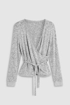 Knitted Ballet Wrap Top