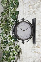 Outdoor Station Wall Clock