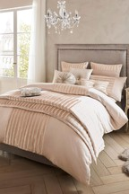 Kylie Exclusive To Next Faux Fur Panel Lucette Duvet Cover