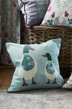 Daphne And Daisy The Ducks Cushion
