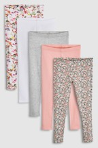 Leggings Five Pack (3-16yrs)