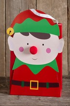 Elf Christmas Gift Bag