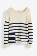Stripe Crew Neck Jumper