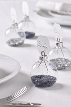 Set of 4 Bauble Placecard Holders