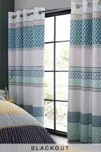 Mini Geo Stripe Curtains