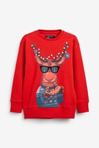 Kids Matching Family Rudolph Musical Christmas T-Shirt (3-16yrs)