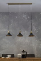 Detroit 3 Light Linear Pendant