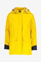 Barbour® Coastal Yellow Crest Waterproof Drizzle Jacket