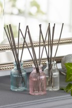 Set of 3 Floral 30ml Diffusers