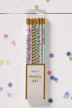 Set of 6 Confetti Pencils