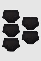 Cotton Rich Knickers Five Pack