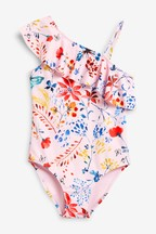 One Shoulder Swimsuit (3-16yrs)