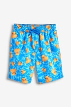 22ac01aa430 Buy Blue Duck Print Swim Shorts from the Next UK online shop