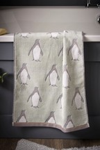 Sparkly Penguin Hand Towel