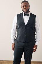 Tollegno Signature Tuxedo Suit: Waistcoat