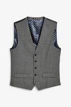 Empire Mills Signature Birdseye Suit: Waistcoat