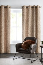 Constance Weave Eyelet Curtains