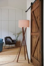 Ash Wood Floor Lamp