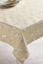Wipe Clean Bunny Tablecloth