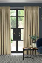 Dawson Geo Ochre Made To Measure Curtains
