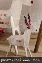 Personalised Small Reindeer
