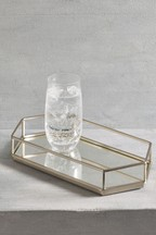 Hexagon Mirror Tray