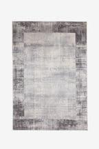 Textured Border Rug