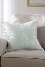 Amelia Floral Embroidered Cushion