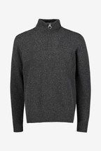 Barbour® Grey Half Zip Jumper